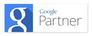 image of google certified partner badge