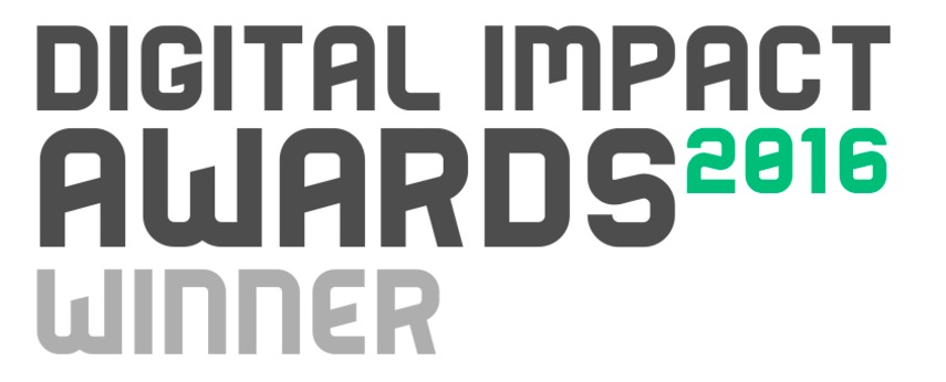 digital impact award winner