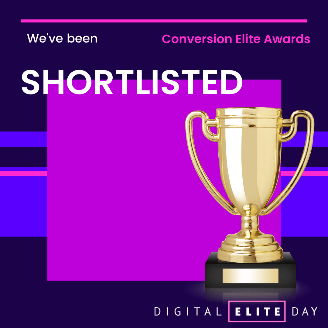 Converted Shortlisted for Conversion Elite Award